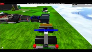 ROBLOX Chevy Avalanche Rear Impact Test