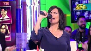 Frank Blanco comprueba que Silvia Abril no se acuerda de la canción