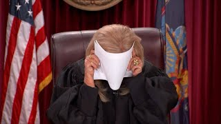 """You Won't Believe the Hilarious Way Judge DiMango Asked Defendant for Evidence On """"Hot Bench"""""""