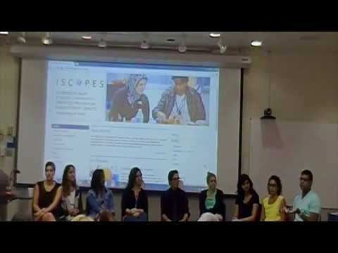 ISCOPES Student Alumni Panel 8-27-14