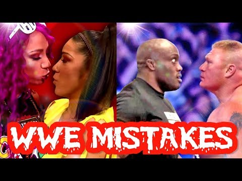 14 MISTAKES THAT WWE DID RECENTLY