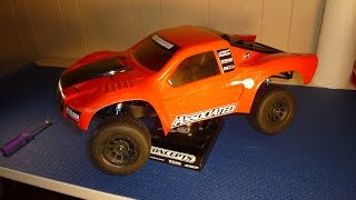 RC racing basic short course tips and terms.