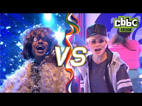 Justin Bieber's 'Sorry' VS Adele's 'Hello' - Blue Peter Lip Sync Challenge - CBBC