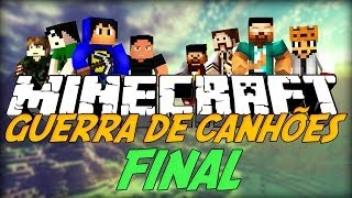 Minecraft: Guerra de Canhões! FINAL! [2] (TNT Wars)