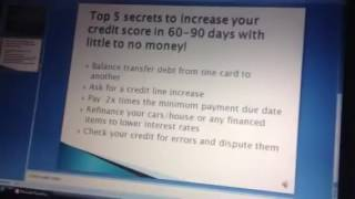 5 Secret Ways To Boost Credit Score In 30 Days - Fix Your Credit Score Fast [NO BS!]