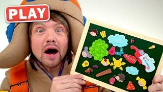 КУКУТИКИ PLAY - РОЗПАКУВАННЯ Кукубокс - Граємо в Іграшки з Пілотом Гвинтиком - Kids Funny Toys