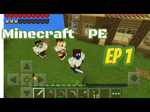 Minecraft PE [Tunisia] : EP#1 :Make A home