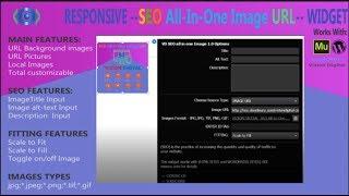 MY Custom Premium Image URL Adobe Muse Widget
