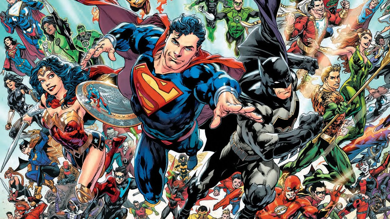 DC Universe Rebirth - The Greatest Heroes and Villains - YouTube