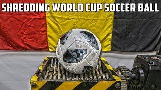 Shredding The World Cup Football Ball