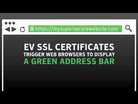 Implementing EV SSL or Extended Validation SSL Certificate Security