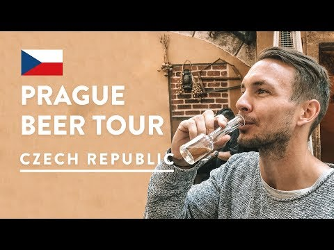 12 DIFFERENT CZECH BEERS! 🍻Beer Tour & Brewery Tour Prague | Czech Republic Travel Vlog