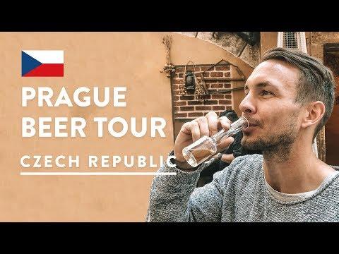 IS CZECH BEER GOOD?! 🍻Beer Tour & Brewery Tour Prague | Czech Republic Travel Vlog