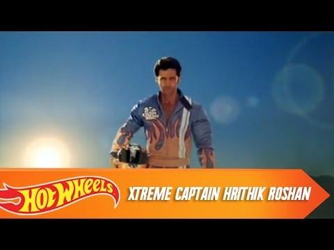 Hot Wheels Team XTreme Captain Hrithik Roshan | Hot Wheels