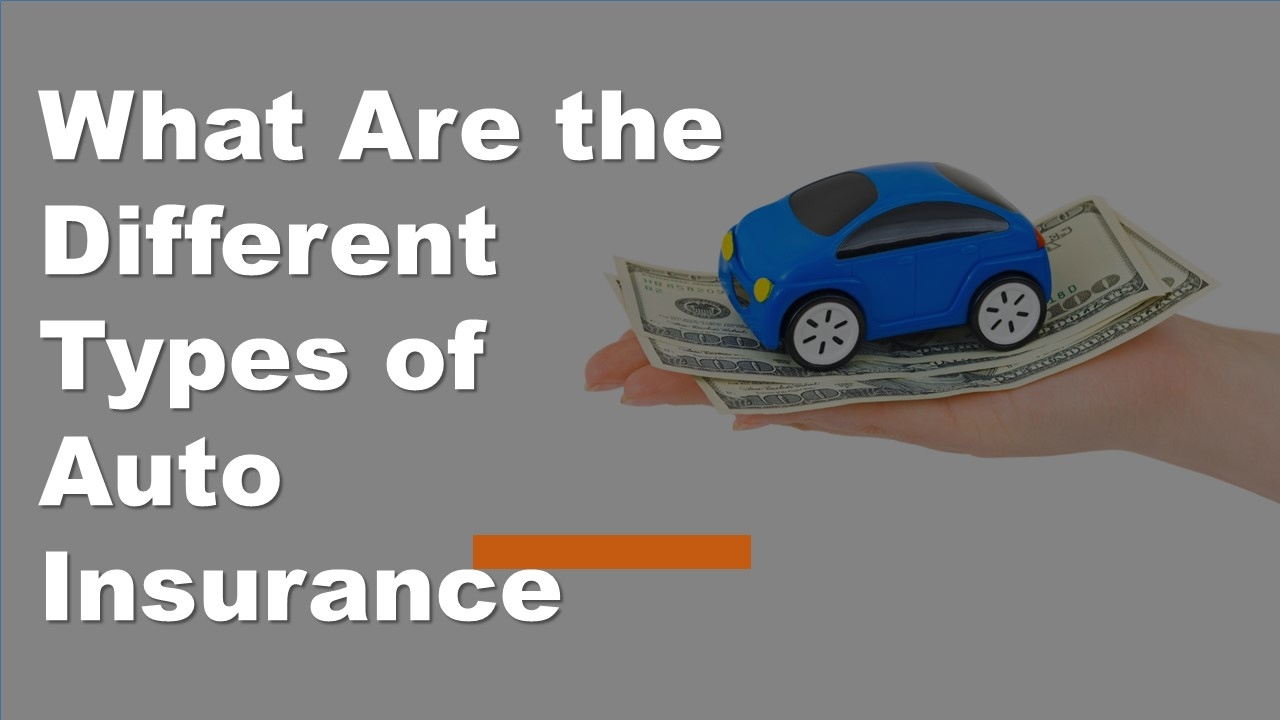 Types Of Auto Insurance >> What Are The Different Types Of Auto Insurance Car Insurance Coverage Types