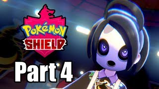 POKEMON SHIELD Gameplay Walkthrough Part 4 | Ghost Gym Time - No Commentary [Switch 1080p]