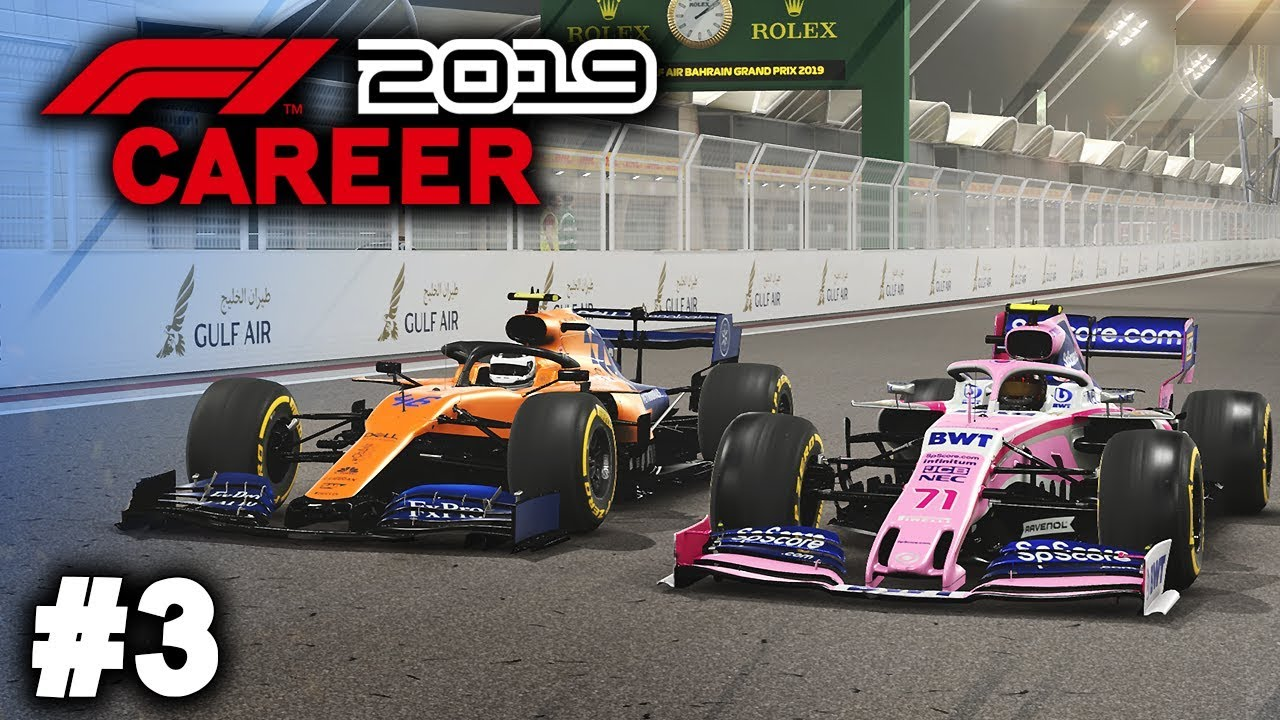 F1 2019 Career Mode Gameplay Part 3 - RIVAL'S HAVE ...