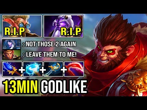NEW 7.23 IMBA to Destroy Cancer Void Spirit & Snapfire | Absolute Unkillable Monkey King DotA 2