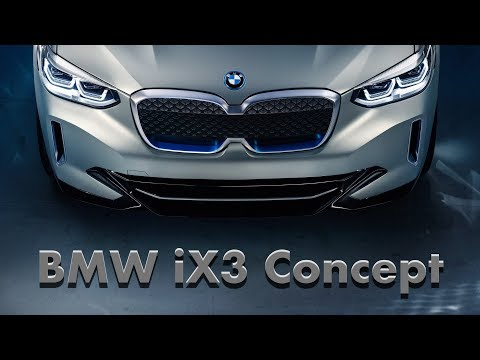 Why BMW's iX3 Concept Is A Car You Should Watch