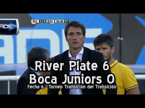 River 6  Boca 0 - Fecha 6 Torneo Transición del Transición (Parodia)