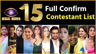 Bigg Boss 15: BB15 Contestants Full List   EXCLUSIVE! Season 15 Full Contestants List