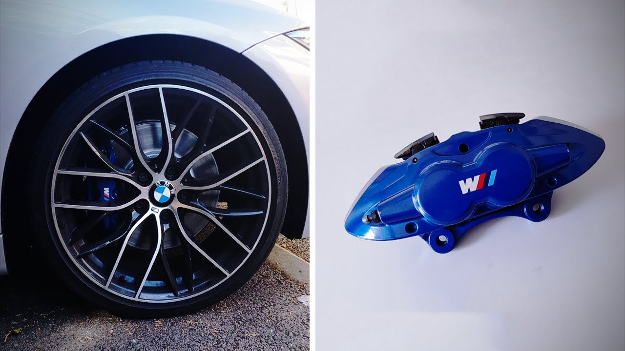 Bmw M Series >> M SPORT BREMBO BRAKE UPGRADE RETROFIT! (BMW F30) - YouTube