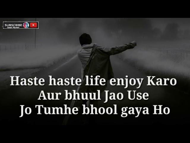 Life (Enjoy) || Shayari WhatsApp Status 😫💔