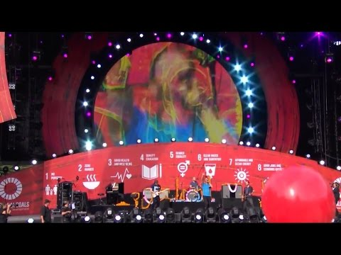 [Global Citizen] Coldplay at Great Lawn in Central Park 2015