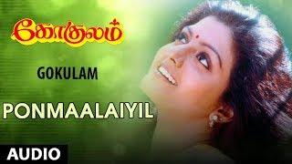 Ponmaalaiyil Song | Gokulam Tamil Movie Songs | Arjun, Jayaram, Bhanupriya | Sirpi