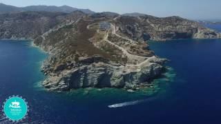 THESEUS BEACH VILLAGE  IRAKLION CRETE | SKY EYE AERIAL VIDEO