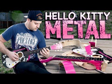 Hello Kitty Acoustic Metal