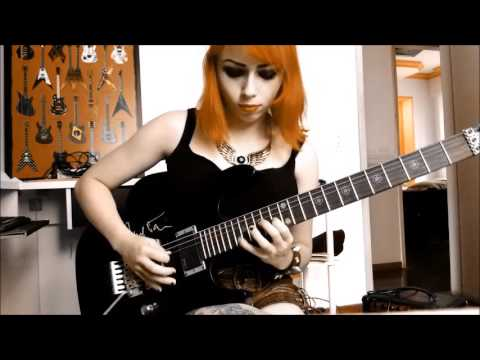 Muse - Hysteria (guitar and bass cover by Bruna Terroni)
