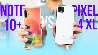 Google Pixel 4 XL vs Samsung Galaxy Note 10 Plus: So sánh camera