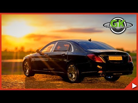 1:18 Almost Real Mercedes-Maybach S-​Klasse S600 | Modellauto Review