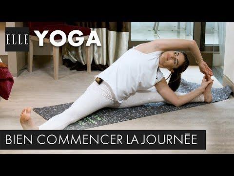 15 minutes de yoga pour bien commencer la journée ┃ELLE Yoga