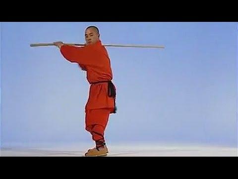 Shaolin kung fu yin-hand staff
