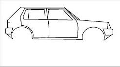 Dessin de voiture facile a faire youtube - Voiture facile a dessiner ...