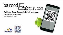Aplikasi Android Phones Barcode Scanner Import CSV e-Faktur