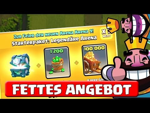 ANGEBOT + LEGENDARY GEKAUFT || CLASH ROYALE || Let's Play CR [Deutsch/German HD+]