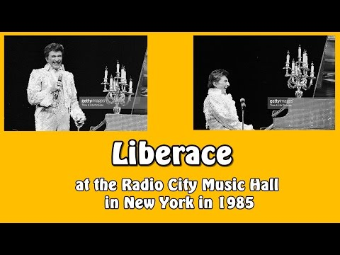 Liberace at the Radio City Music Hall in New York, 1986 (HD)