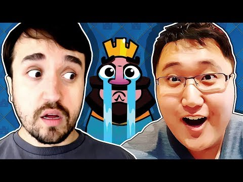 x1 LEON vs JEFF no Clash Royale