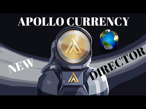 CRYPTO NEWS:APOLLO CURRENCY NEW DIRECTOR/HUGE PARTNERSHIP! DEC.3RD APOLLO AFRICA DEX REBRANDING!