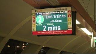 [LAST WESTBOUND TRAIN][SMRT Trains][Kawasaki C151A](Set 505/506) Last Train to Joo Koon at Tampines