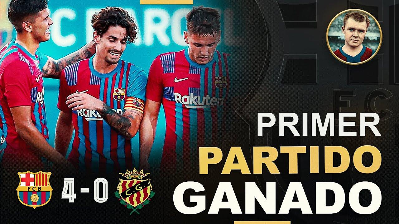 ⚽ Barça 4-0 Nàstic ✅ Análisis del primer partido de pretemporada   Brutal hattrick de Rey Manaj