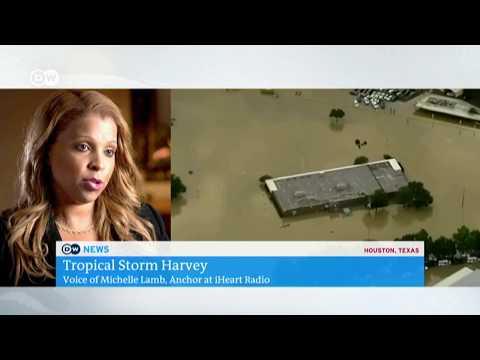 Deutsche Welle News (DW TV) Harvey Live Report 5 a.m.