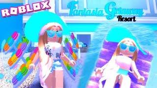 Vacation & Shopping! Roblox: Royale🏰High ~ Fantasia Getaway Resort