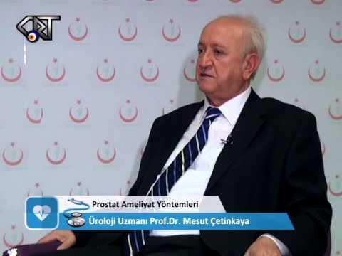 Prof. Dr. Mesut ÇETİNKAYA-Prostat Hastalığı,Kanserli ve Kansersiz Prostatların Tedavisi