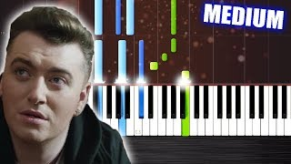 Sam Smith - Lay Me Down - Piano Cover/Tutorial by PlutaX - Synthesia