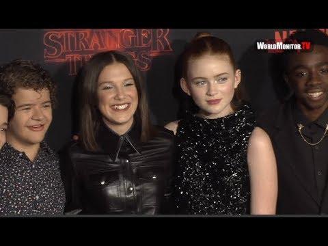 Netflix's 'Stranger Things' Season 2 premiere - Millie Bobby Brown, Noah Schnapp, Winona Ryder
