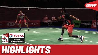TOTAL BWF World Championships 2019 | Round of 16 MS Highlights | BWF 2019